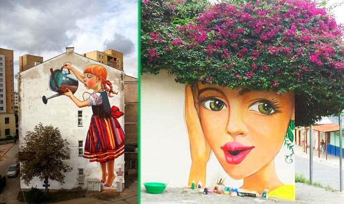 Photo of WOW: Neverovatna ulična umetnost u saradnji sa prirodom
