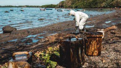 Photo of SLIKA DANA: Ekološka katastrofa na Mauricijusu, nakon izlivanja nafte iz japanskog broda