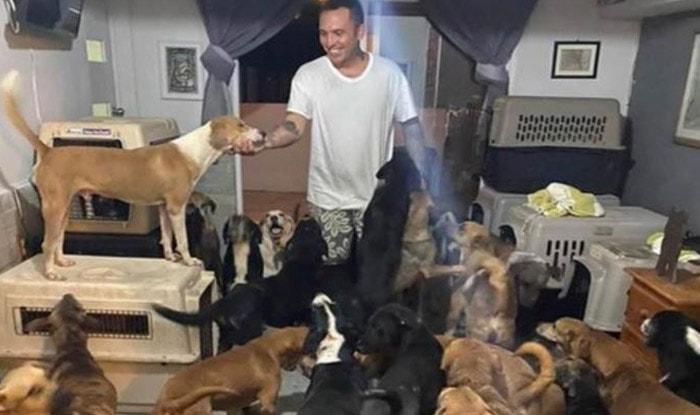 Photo of Ovaj čovek je SPASIO 300 PASA od razornog uragana u Meksiku (VIDEO)