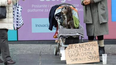 """Photo of SRCEPARUJUĆA SCENA U SRCU ZAGREBA: """"Ne mogu živeti bez pasa, pa sam ostala bez stana"""""""