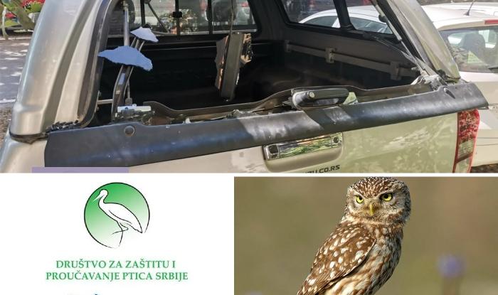 Photo of DEMOLIRAN AUTOMOBIL Društva za zaštitu i proučavanje ptica Srbije